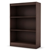 Axess Brown Bookcase / Display Unit with 3 Shelves - SS-7259766