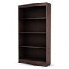 Axess Brown Bookcase / Display Unit with 4 Shelves - SS-7259767