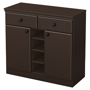 Morgan Sideboard - 2 Doors, 2 Drawers, Chocolate