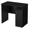 Axess Small Desk - Pure Black - SS-7270075