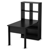 Annex Work Table and Storage Unit in Black - SS-7270798
