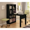 Annexe Craft Table and Storage Unit Combo - Pure Black - SS-7270C1