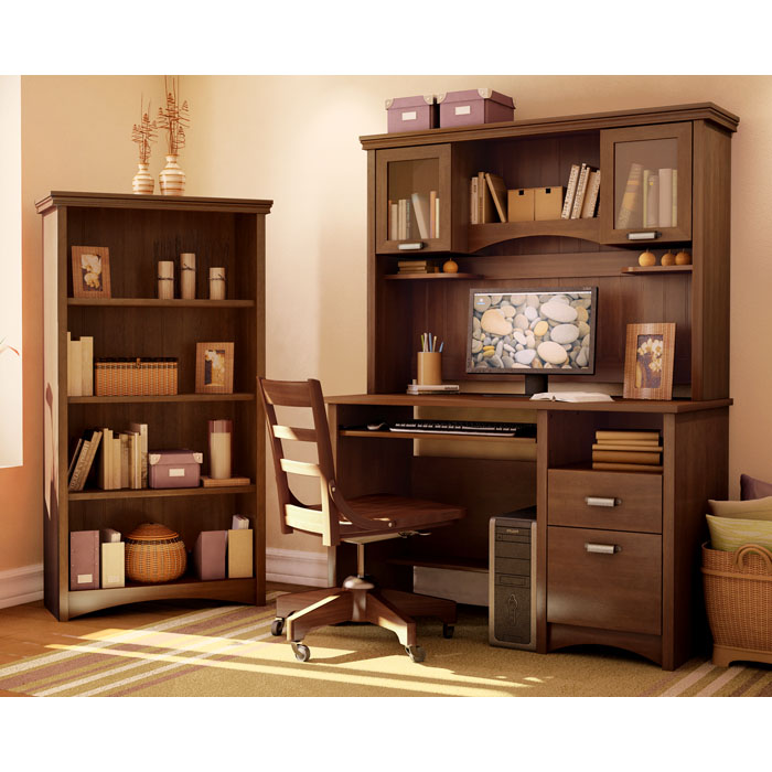 Gascony Bookcase in Cherry - SS-7356767