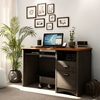 Gascony Two-Toned Computer Desk with 2 Drawers - SS-7378070