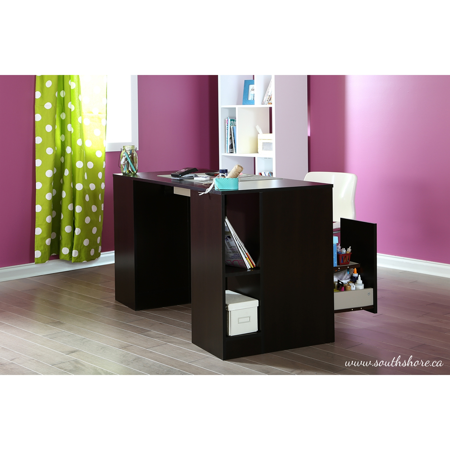 Crea Craft Table - Chocolate - SS-7559727