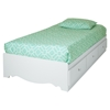 2 Piece Twin Duvet Cover - Turquoise