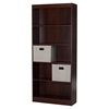 Axess Bookcase - 2 Storage Baskets, 5 Shelves, Royal Cherry - SS-8050152K