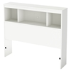 Karma Twin Bookcase Headboard - Pure White - SS-9002B1