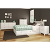 Karma Full Mates Bed - 4 Drawers, Pure White - SS-9002D1