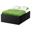 Lazer Full Captain Bedroom Set - Black Onyx - SS-9005209-BED-SET