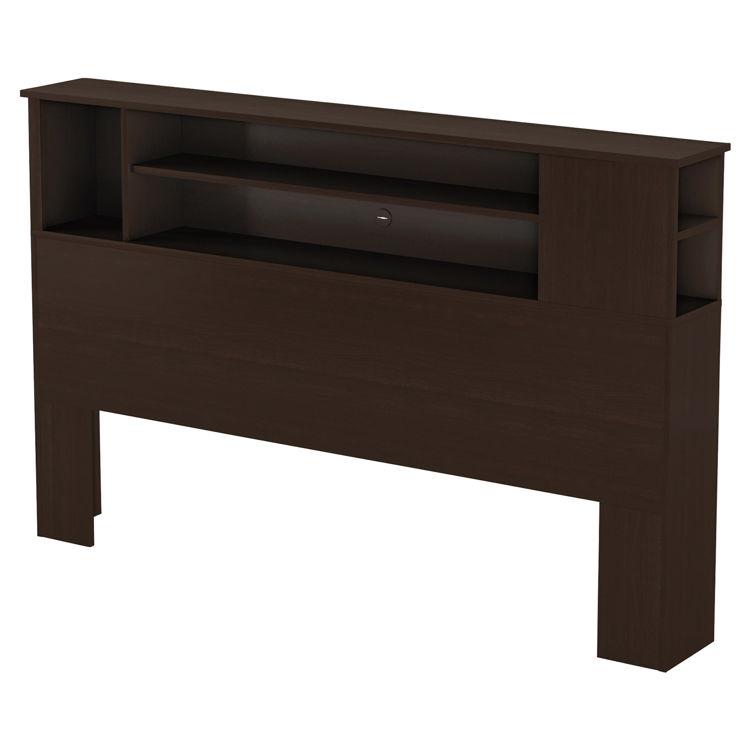 Fusion Full/Queen Bookcase Headboard - Chocolate - SS-9006A1