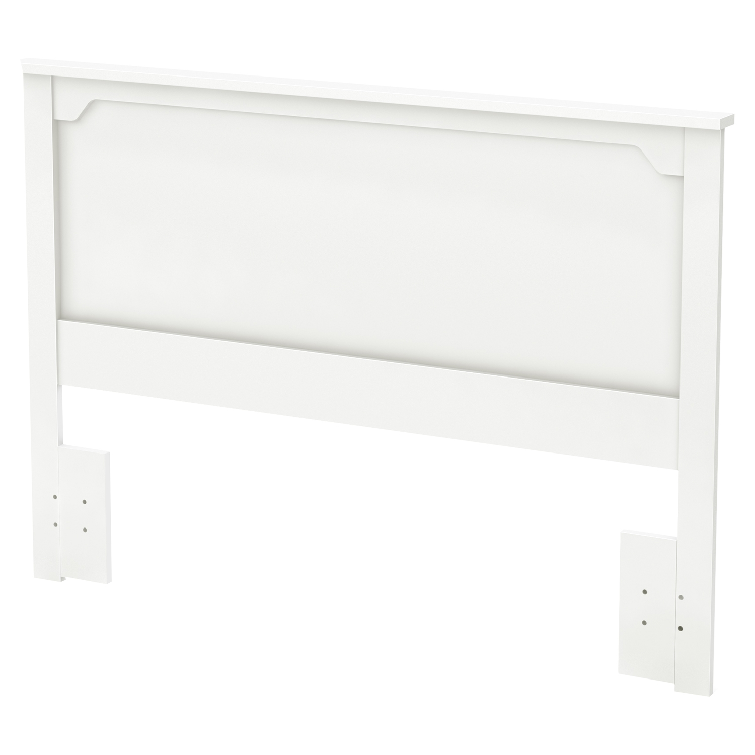 Fusion Full/Queen Headboard - Pure White - SS-9007270