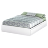 Fusion Queen Mates Bedroom Set - Pure White - SS-9007B1-BED-SET