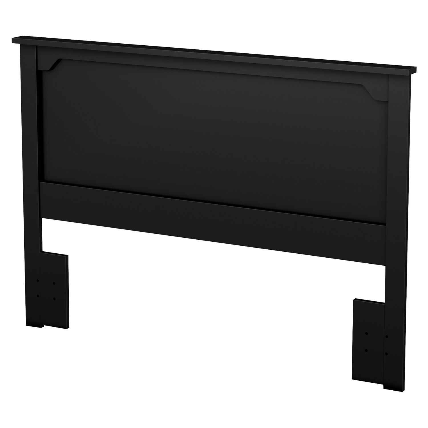 Fusion Full/Queen Headboard - Pure Black - SS-9008270