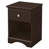 Morning Dew Twin Mates Bedroom Set - 3 Drawers, Chocolate - SS-9016-T