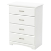Callesto Chest - 4 Drawers, Pure White - SS-9018034