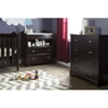 Fundy Tide Changing Table and 4 Drawers Chest - Espresso - SS-9024A2