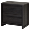 Tao 2 Drawers Nightstand - Gray Oak - SS-9025060