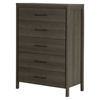 Gravity Chest - 5 Drawers, Gray Maple - SS-9036035