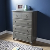 Moonlight 4 Drawers Chest - Gray Maple - SS-9038034