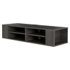 City Life Wall Mounted Media Console - Gray Maple - SS-9042675