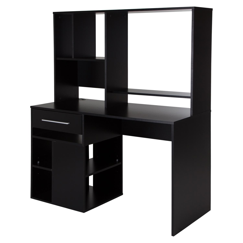 Annexe Home Office Computer Desk Pure Black Dcg Stores
