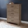 Fusion Queen Bedroom Set - Rustic Oak - SS-9063282-BED-SET