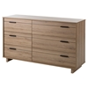 Fynn Twin Mates Bedroom Set - Rustic Oak - SS-90672-BED-SET