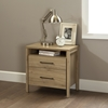 Gravity Nightstand - 2 Drawers, Rustic Oak - SS-9068060