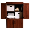 Morgan 4 Doors Shaker Armoire - Royal Cherry - SS-9071971