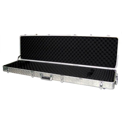 AluminumLock Series Heavy Duty Aluminum Double Rifle Case - SLCK-00009