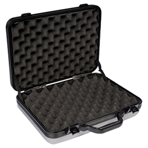 DiamondLock Series Triple Pistol Gun Case - Silver