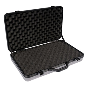 DiamondLock Series Large Pistol and Accessory Case - Silver