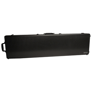 AluminumLock Series Double Rifle Case - Rubber Wheels