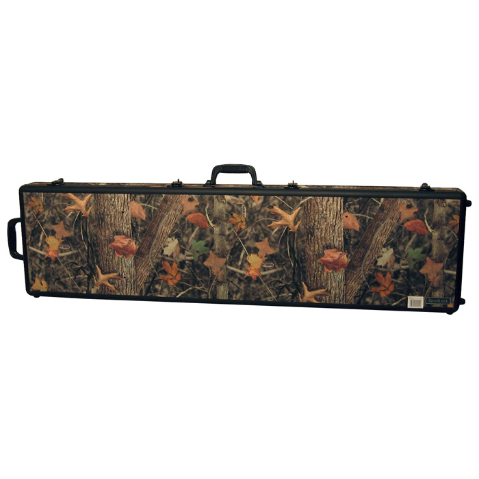 CamoLock Series Double Rifle Case - Rubber Wheels - SLCK-00020