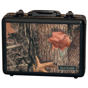 CamoLock Series Double Pistol Gun Case