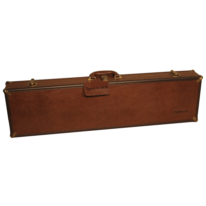 LeatherLock Series Deluxe Take Down Shotgun Case - SLCK-02357