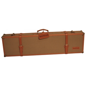 LeatherLock Series Deluxe Canvas Takedown Shotgun Case