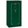Elite Green Convertible 30 Minute Fire Safe w/ Door Storage - 24 Gun - STO-E-24-MG-C-S#