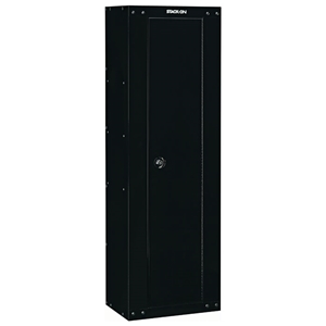 8-Gun Compact RTA Steel Security Cabinet - Black