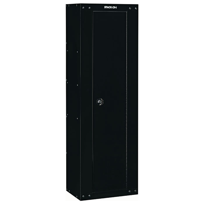 8-Gun Compact RTA Steel Security Cabinet - Black - STO-GCB-8RTA-DS#