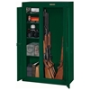 10-Gun Double Door Security Cabinet - Hunter Green - STO-GCDG-924-DS#