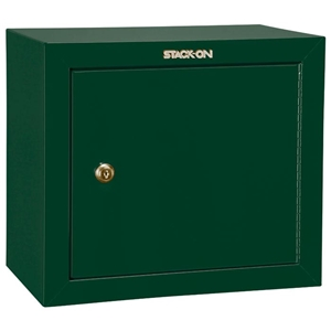 Pistol Ammo Security Cabinet w/ 1 shelf - Hunter Green