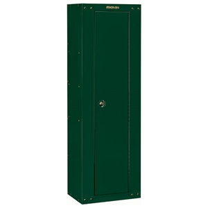8-Gun Compact RTA Steel Security Cabinet - Hunter Green