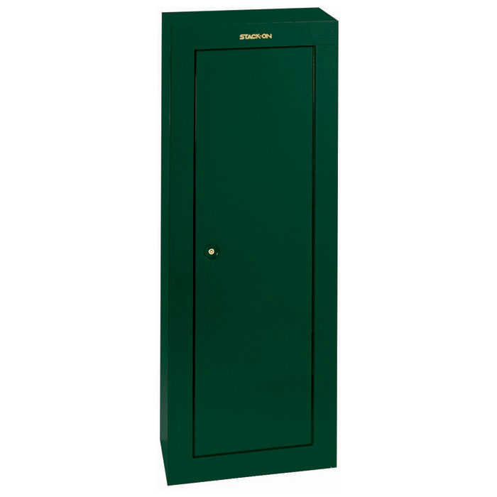 8-Gun Security Cabinet - Hunter Green - STO-GCG-908-DS#