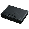 Portable Safe w/ Electronic Lock - Black