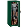 Security Safe w/ Combination Lock in Green - 16 Gun Capacity - STO-SS-16-MG-C#