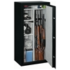 Security Safe w/ Electronic Lock in Black - 22 Gun Capacity - STO-SS-22-MB-E#