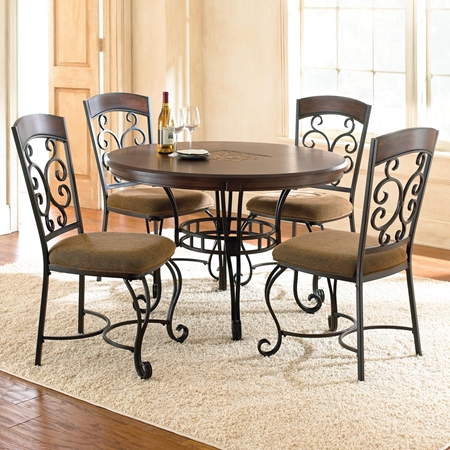 pics photos wrought iron dining room furniture set pic 3 www