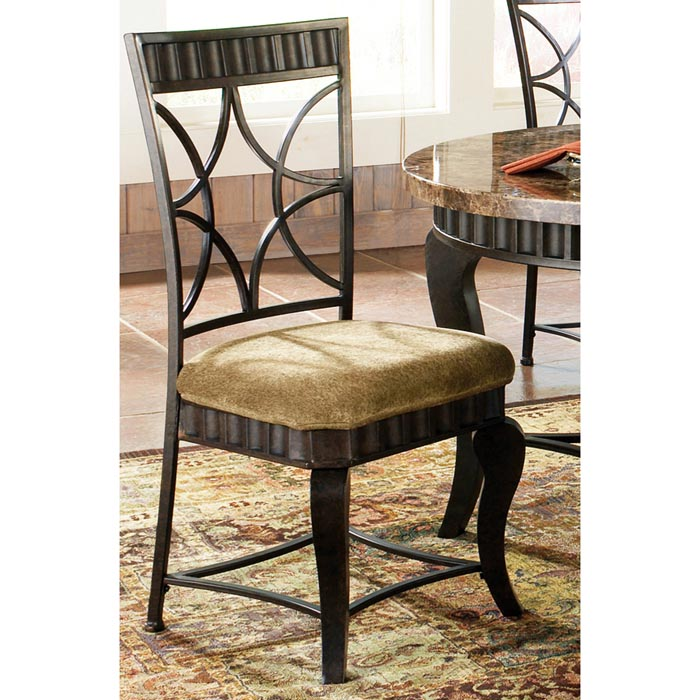 Hamlyn 5 Piece Dinette Set With Marble Top Table Dcg Stores